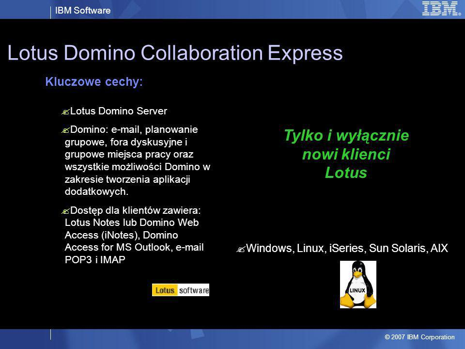 Lotus Domino Collaboration Express