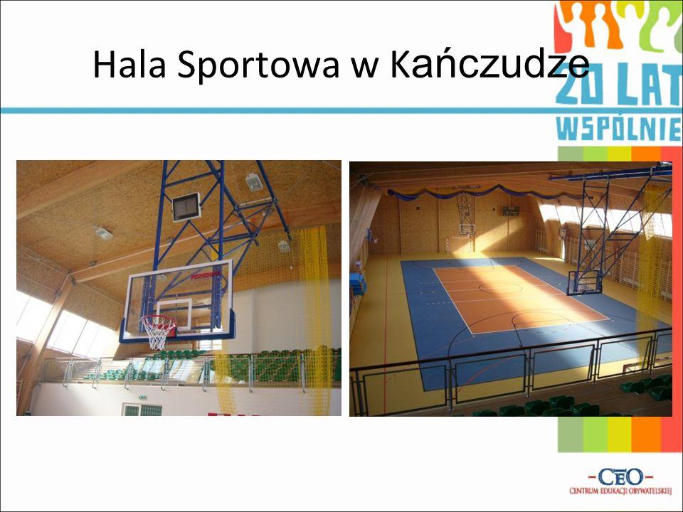 Hala Sportowa w Kańczudze