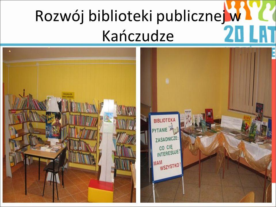 Rozwój biblioteki publicznej w Kańczudze