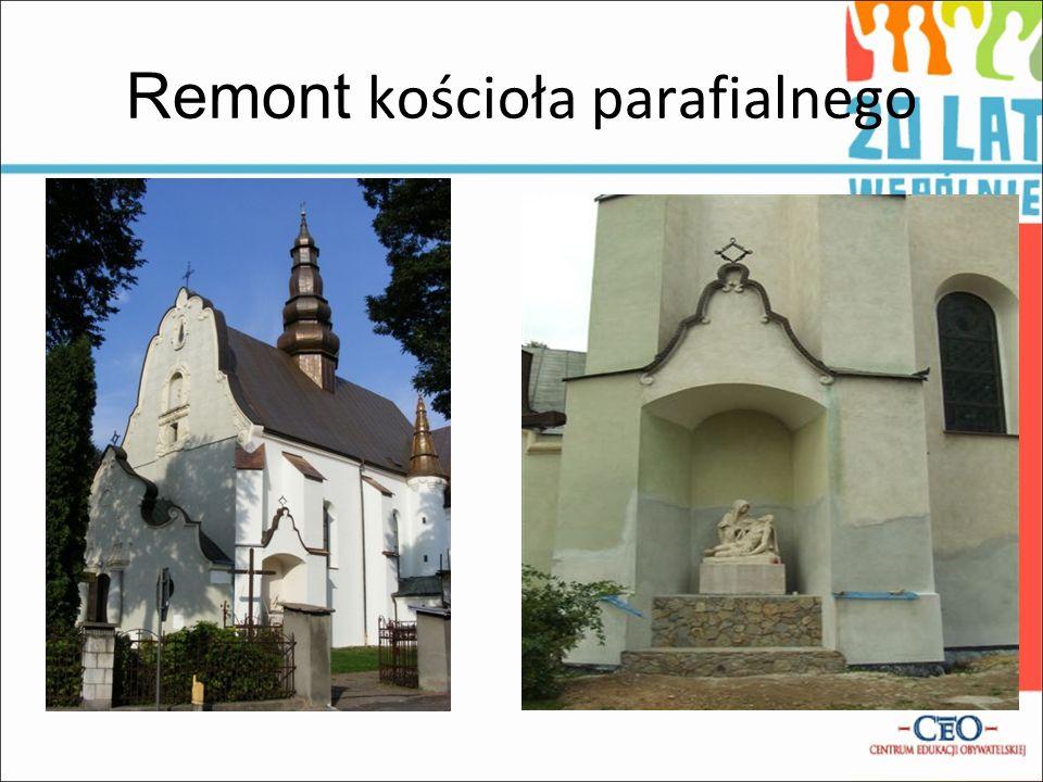 Remont kościoła parafialnego