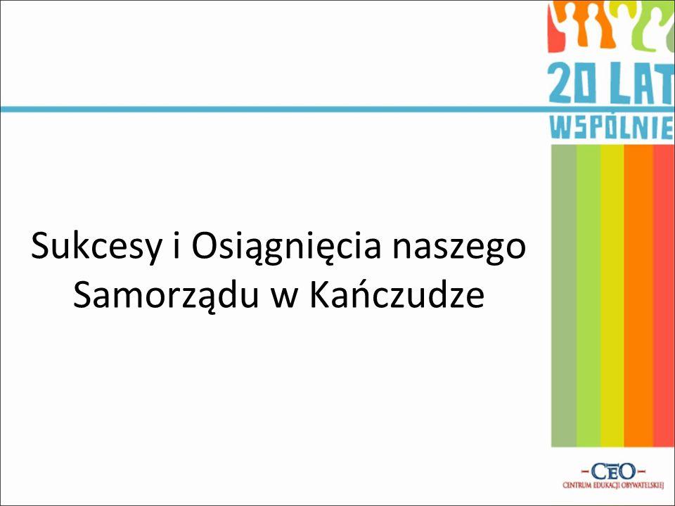 Sukcesy i Osiągnięcia naszego Samorządu w Kańczudze