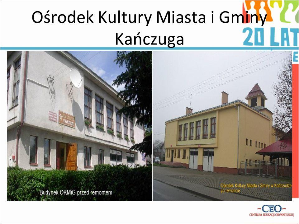 Ośrodek Kultury Miasta i Gminy Kańczuga