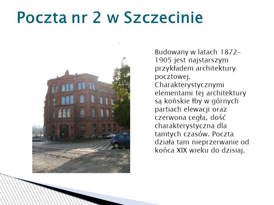 Poczta nr 2 w Szczecinie