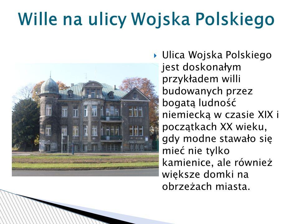 Wille na ulicy Wojska Polskiego