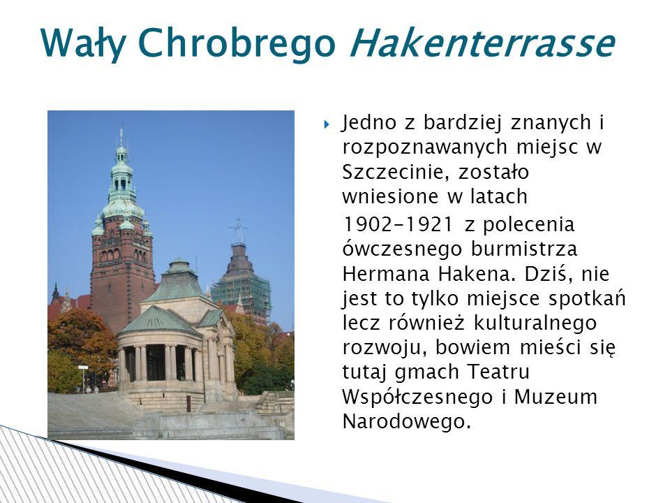 Wały Chrobrego Hakenterrasse