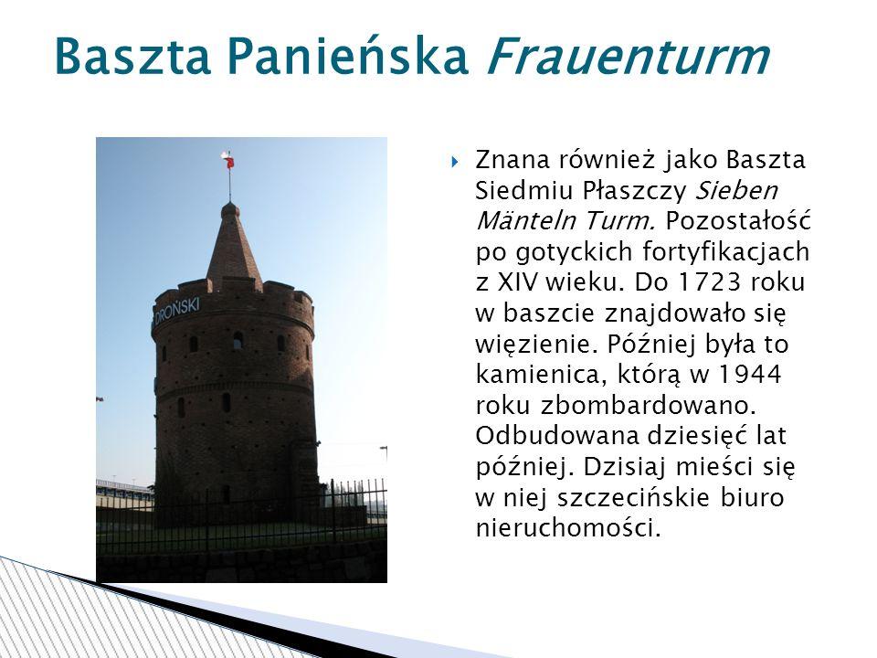 Baszta Panieńska Frauenturm