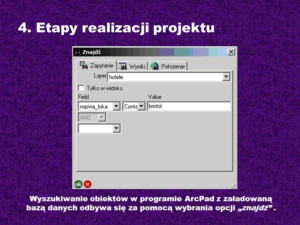 4. Etapy realizacji projektu