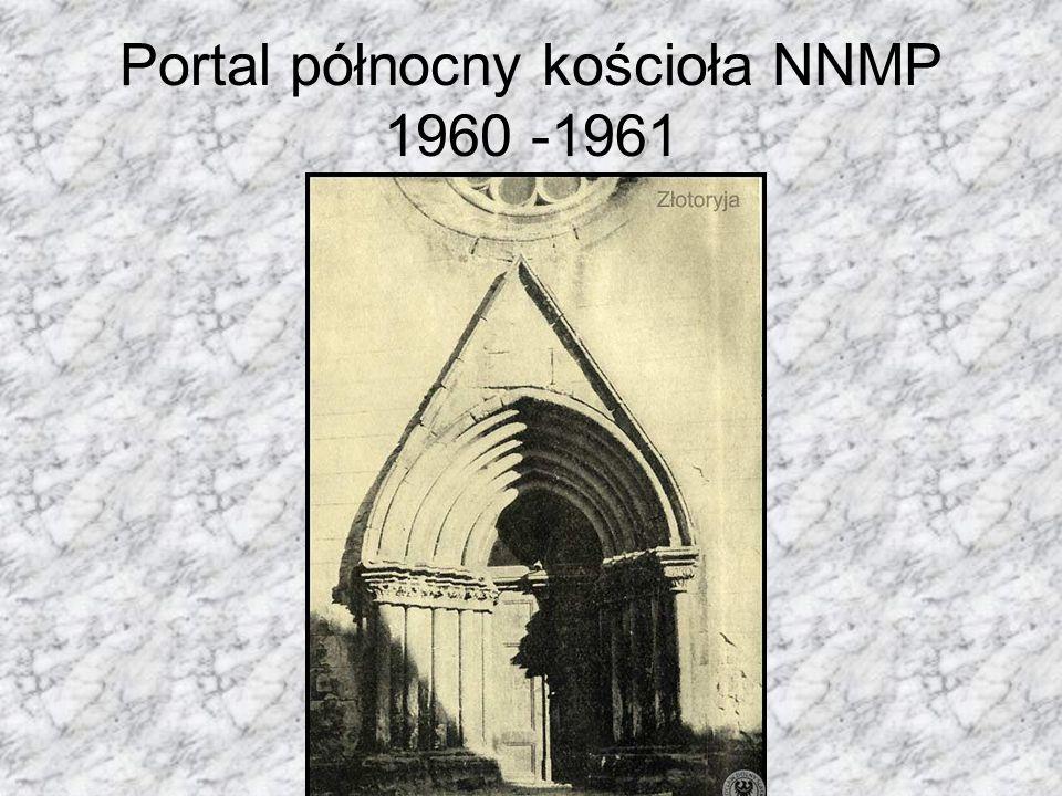 Portal północny kościoła NNMP 1960 -1961