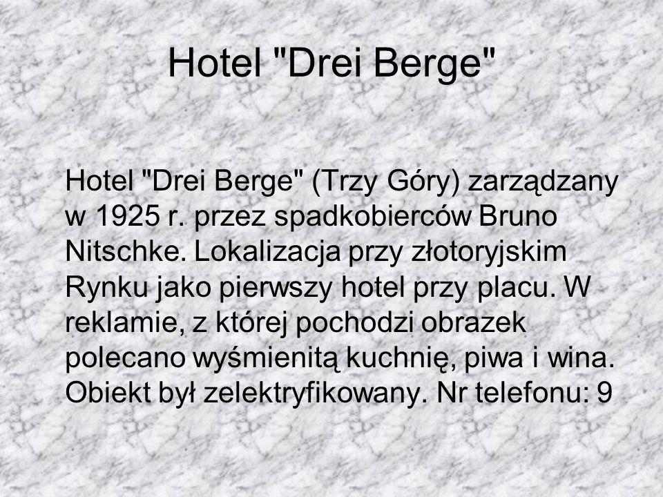 Hotel Drei Berge