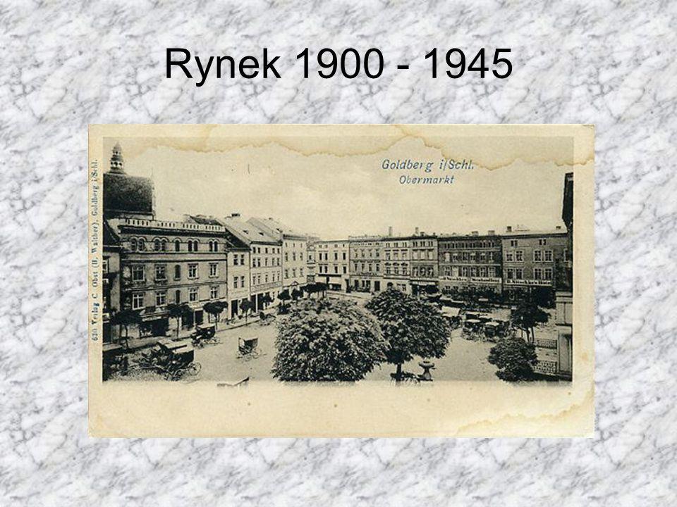 Rynek 1900 - 1945