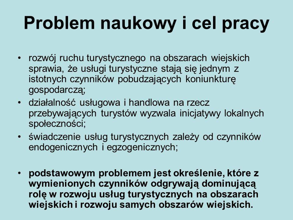Problem naukowy i cel pracy