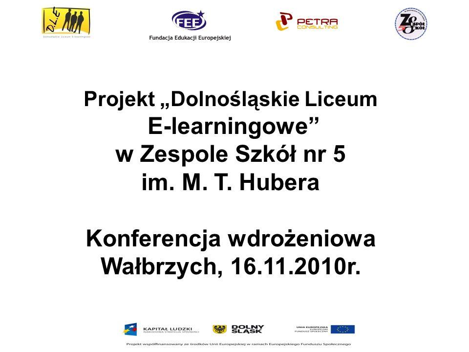 Konferencja wdrożeniowa Wałbrzych, 16.11.2010r.
