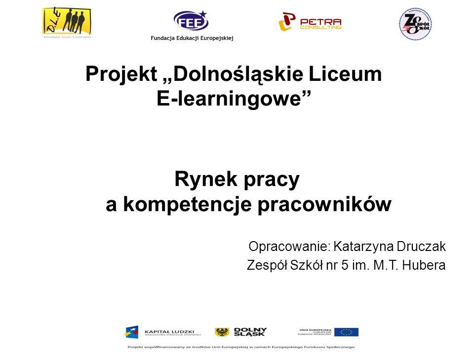 """Projekt """"Dolnośląskie Liceum E-learningowe"""