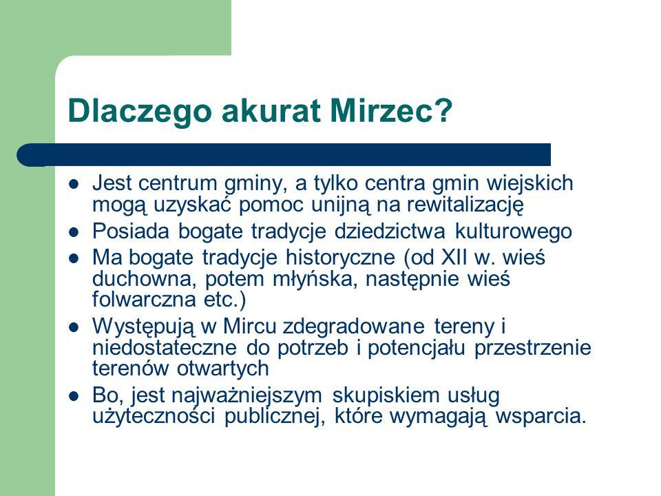 Dlaczego akurat Mirzec