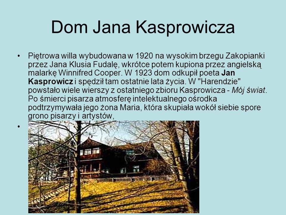 Dom Jana Kasprowicza