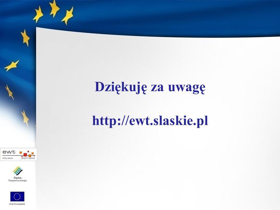Dziękuję za uwagę http://ewt.slaskie.pl