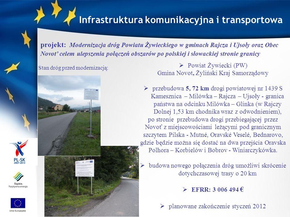 Infrastruktura komunikacyjna i transportowa