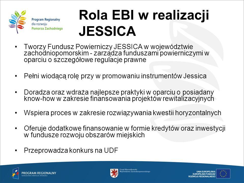 Rola EBI w realizacji JESSICA
