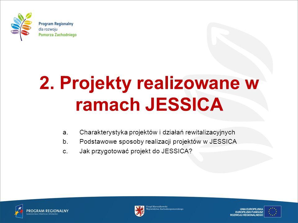 2. Projekty realizowane w ramach JESSICA