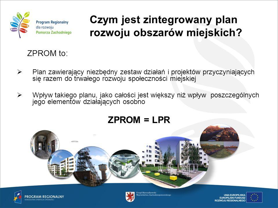 Czym jest zintegrowany plan rozwoju obszarów miejskich