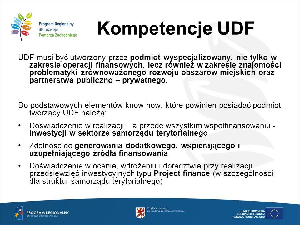 Kompetencje UDF