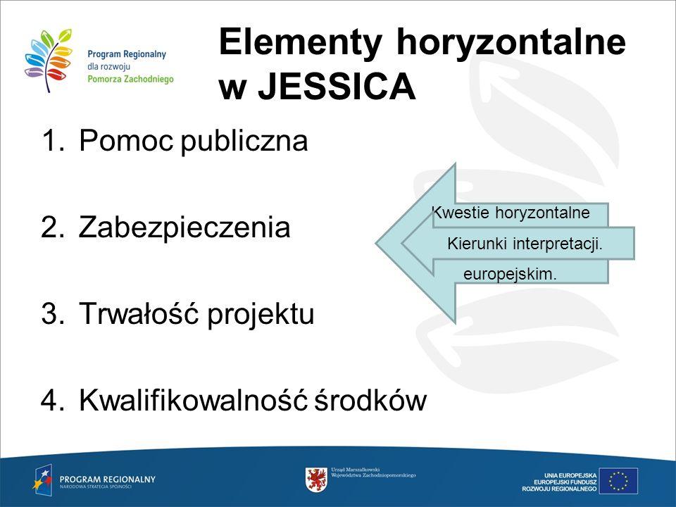 Elementy horyzontalne w JESSICA