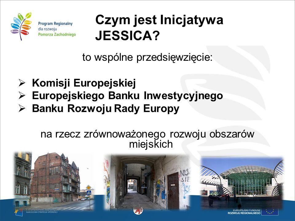 Czym jest Inicjatywa JESSICA