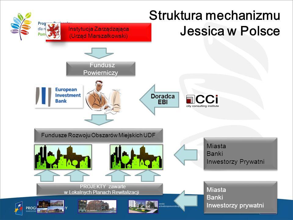 Struktura mechanizmu Jessica w Polsce