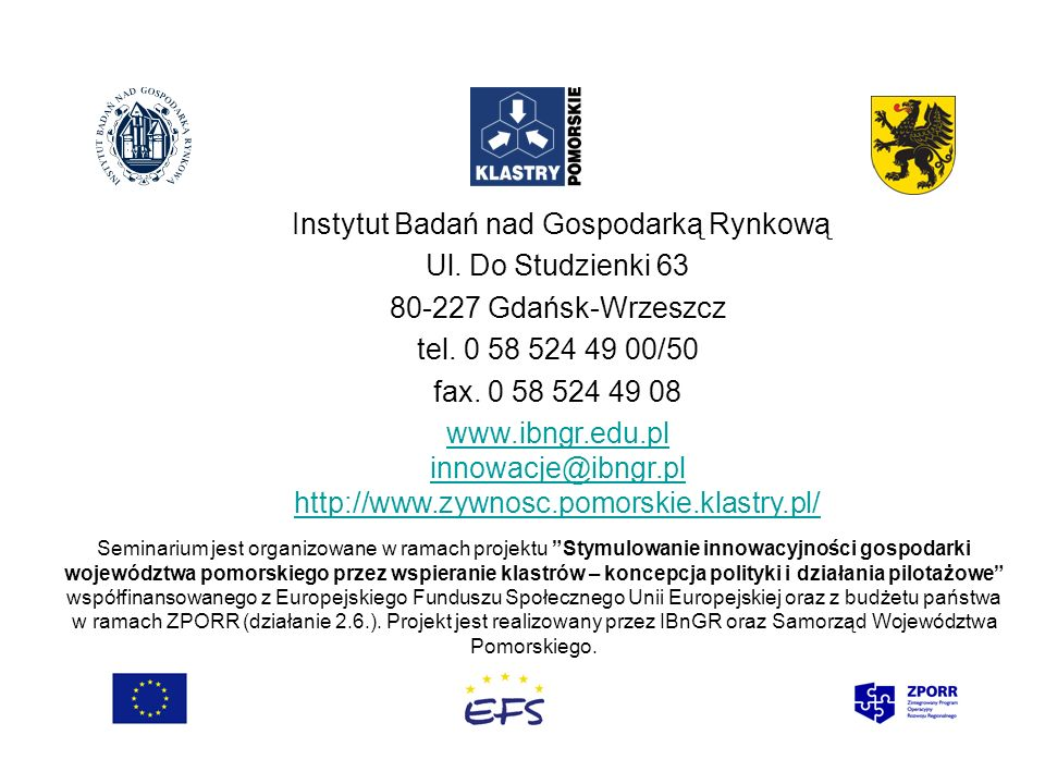 Instytut Badań nad Gospodarką Rynkową