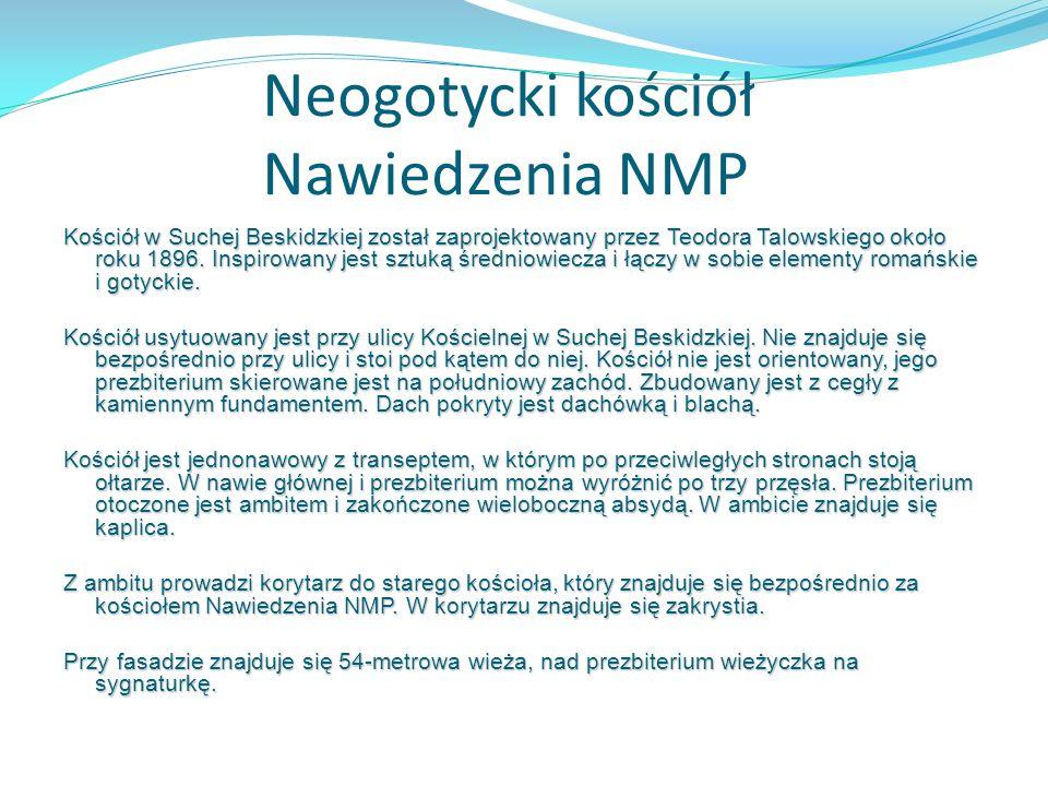 Neogotycki kościół Nawiedzenia NMP