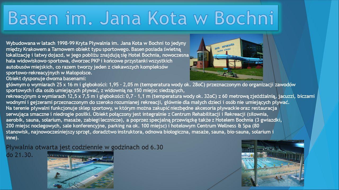 Basen im. Jana Kota w Bochni