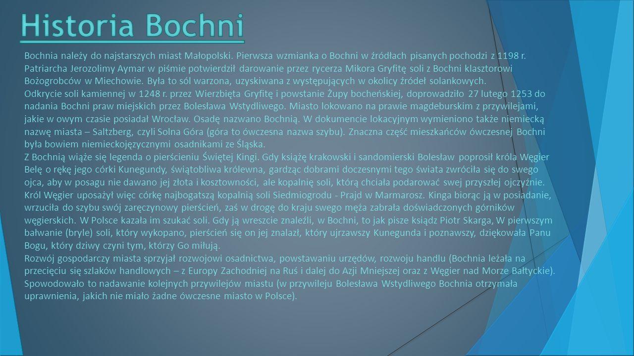 Historia Bochni
