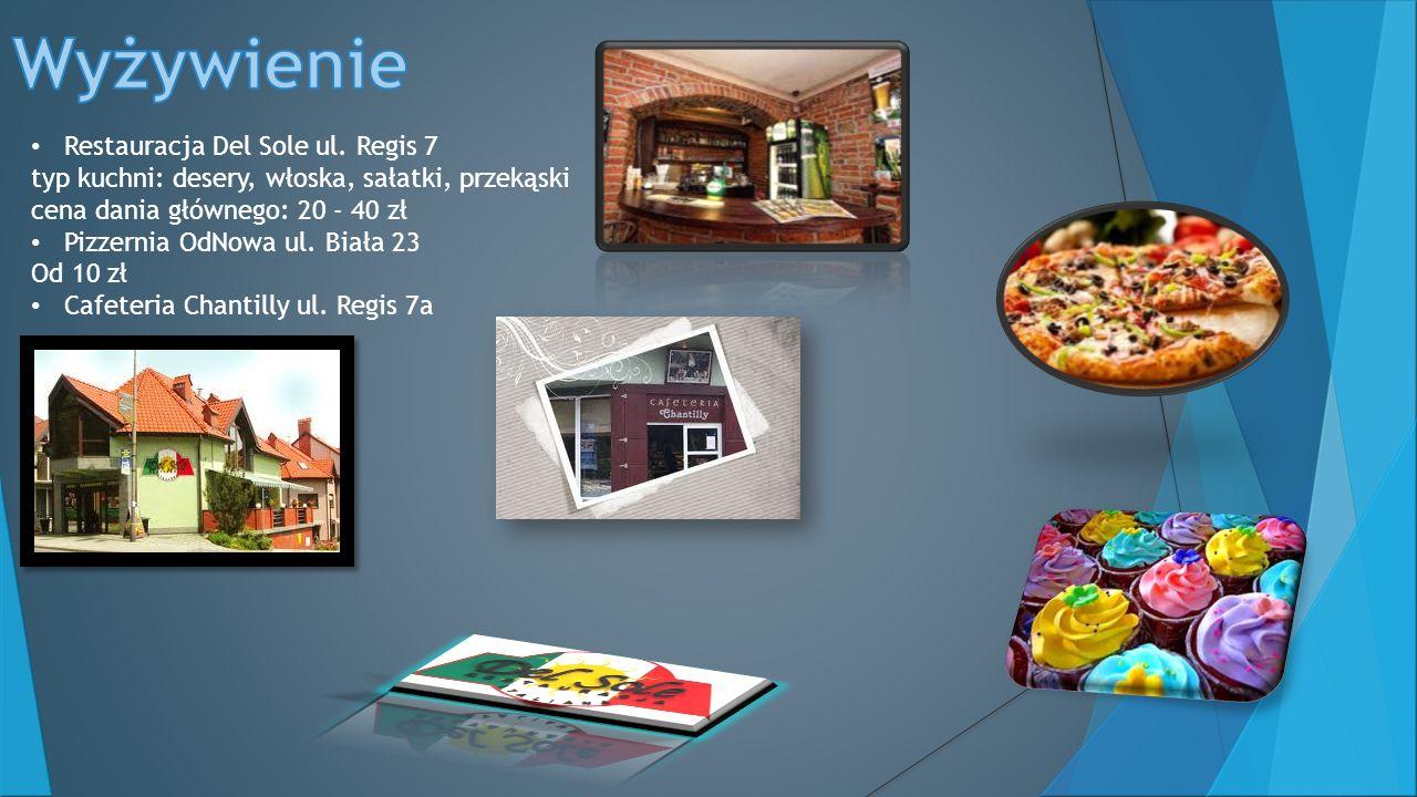 Wyżywienie Restauracja Del Sole ul. Regis 7