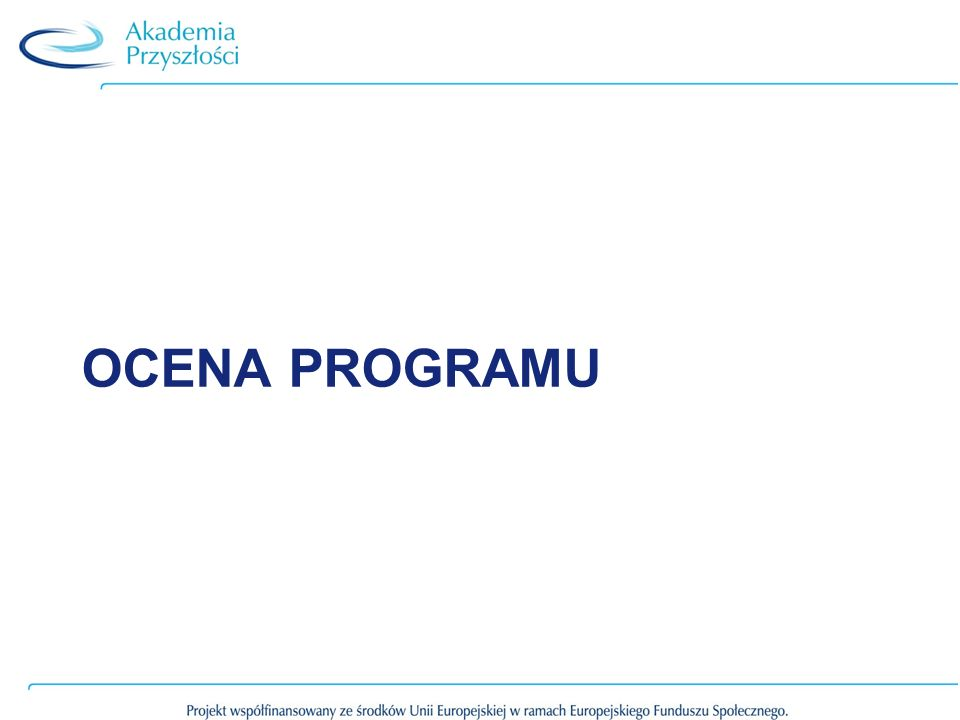 Ocena programu