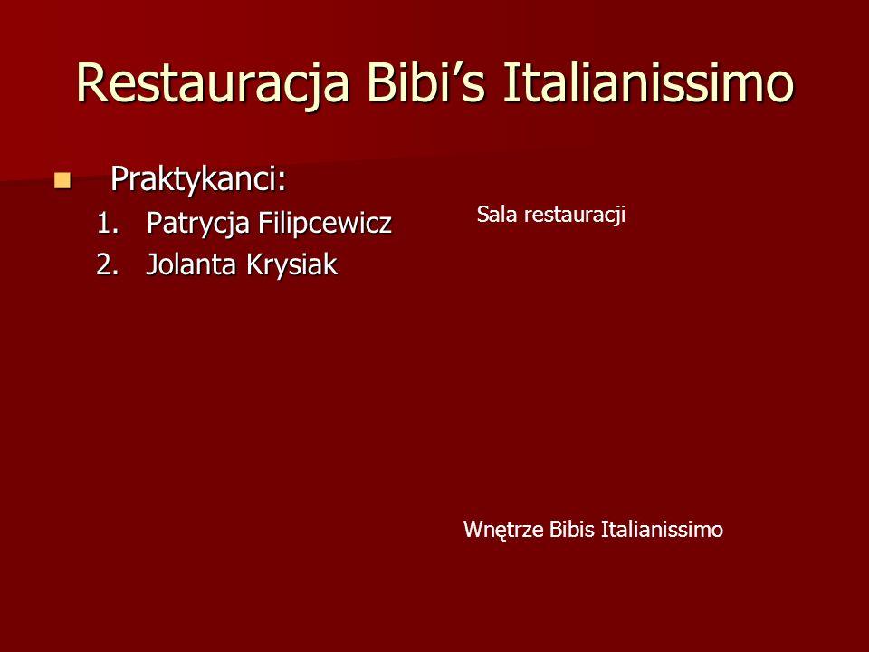 Restauracja Bibi's Italianissimo