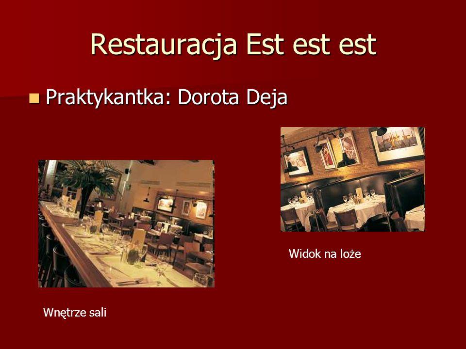 Restauracja Est est est