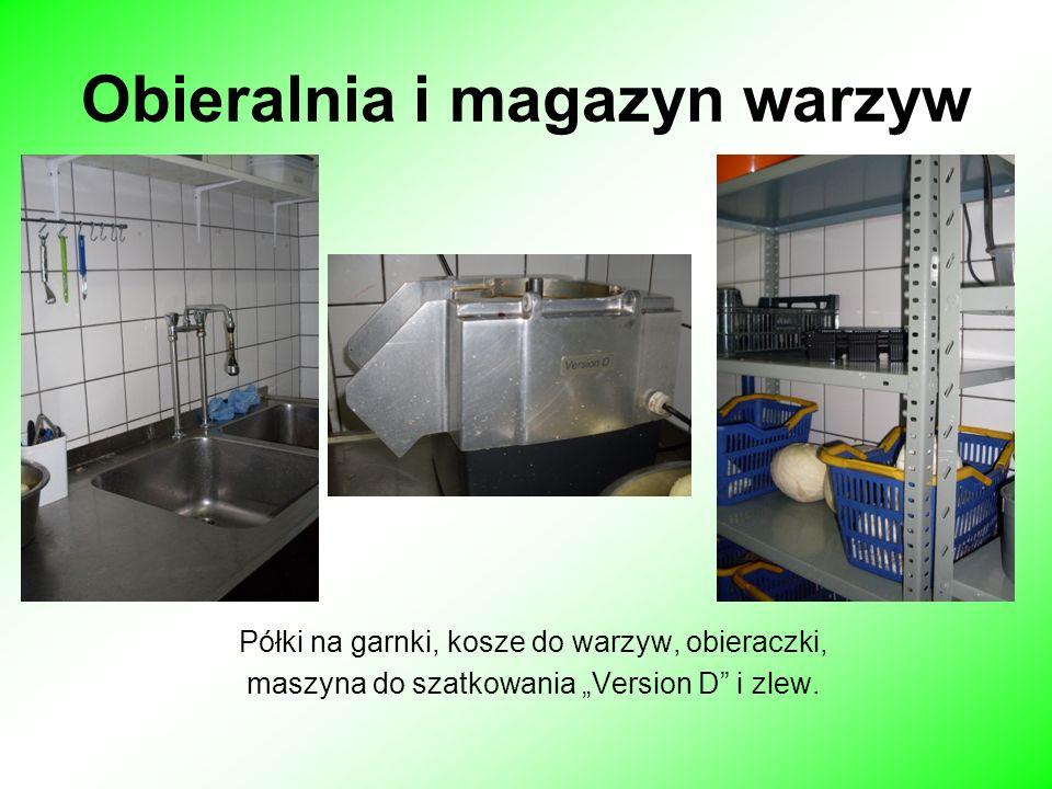 Obieralnia i magazyn warzyw