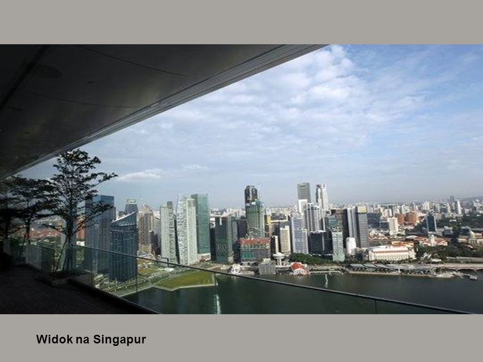 Widok na Singapur