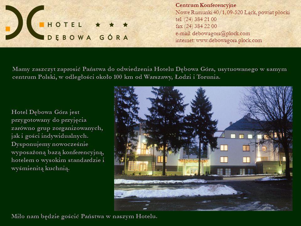 Miło nam będzie gościć Państwa w naszym Hotelu.