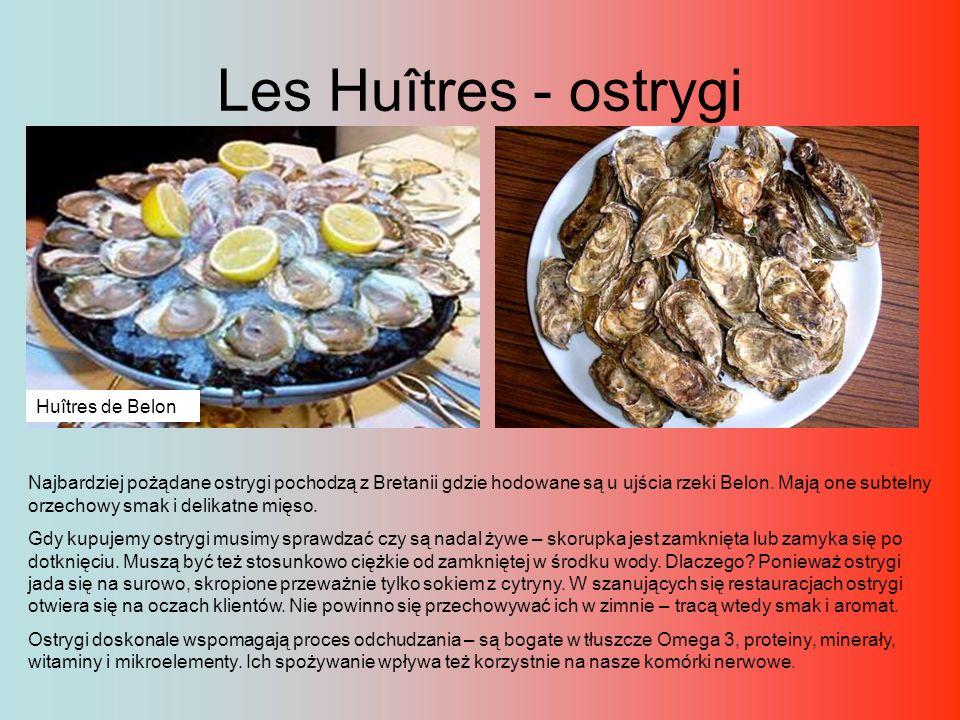 Les Huîtres - ostrygi Huîtres de Belon