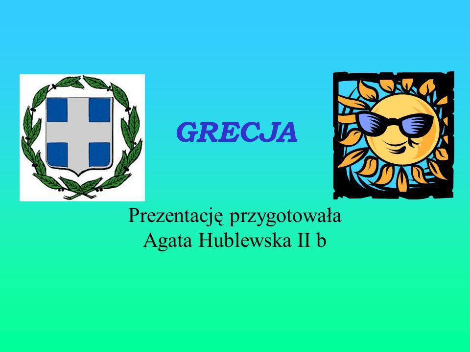 Prezentację przygotowała Agata Hublewska II b