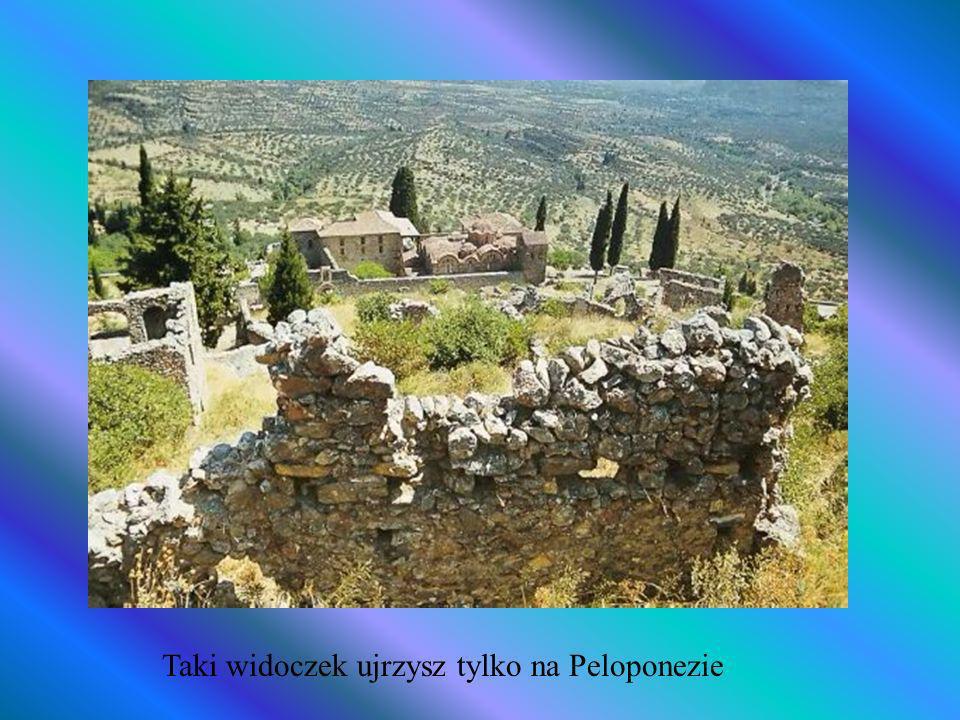 Taki widoczek ujrzysz tylko na Peloponezie