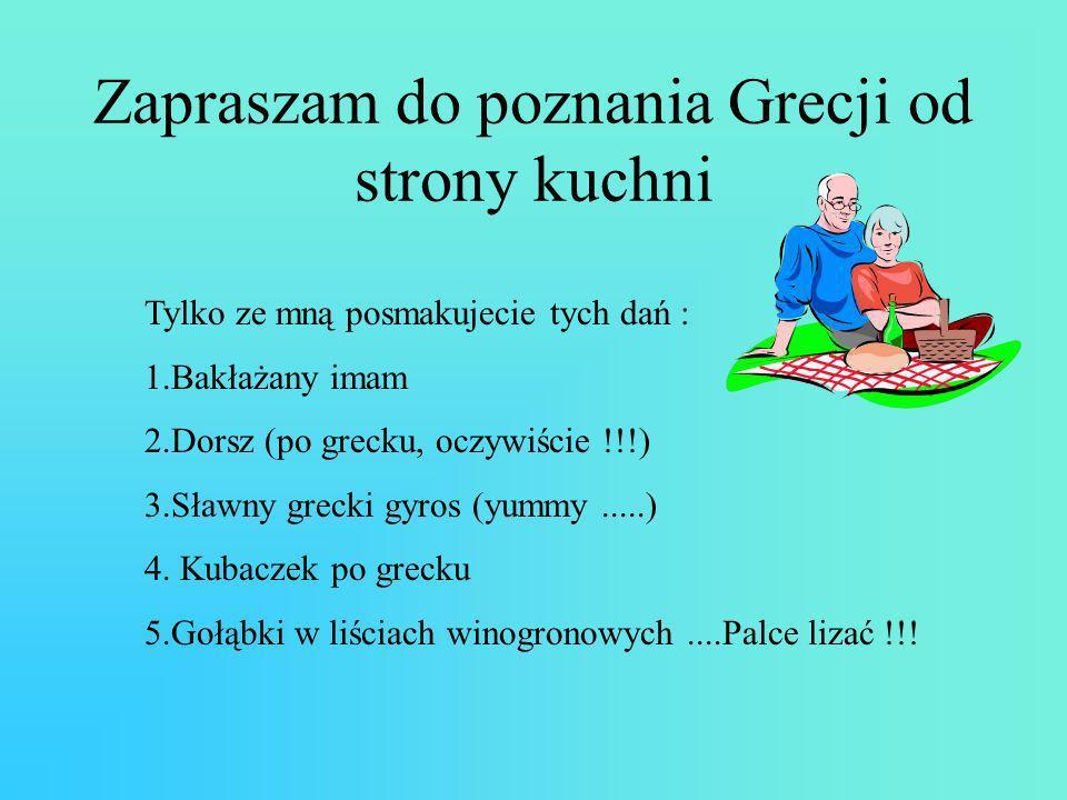 Zapraszam do poznania Grecji od strony kuchni