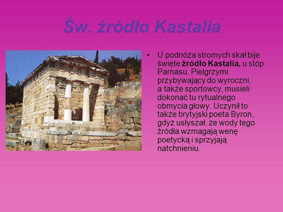 Św. źródło Kastalia
