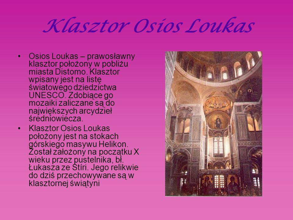Klasztor Osios Loukas