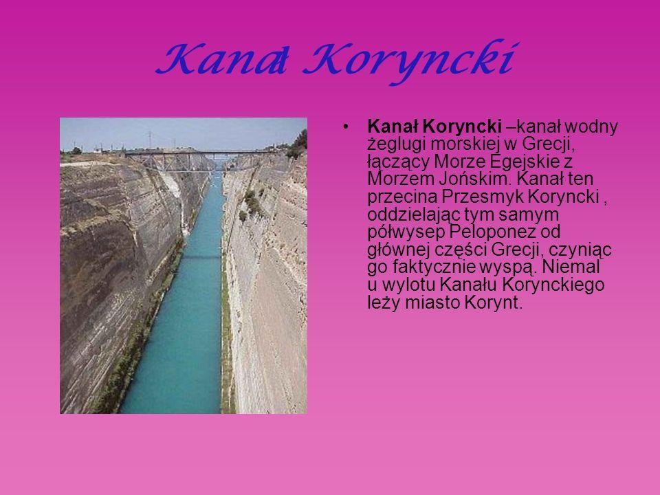 Kanał Koryncki