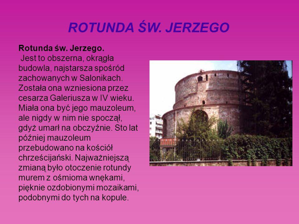 ROTUNDA ŚW. JERZEGO Rotunda św. Jerzego.