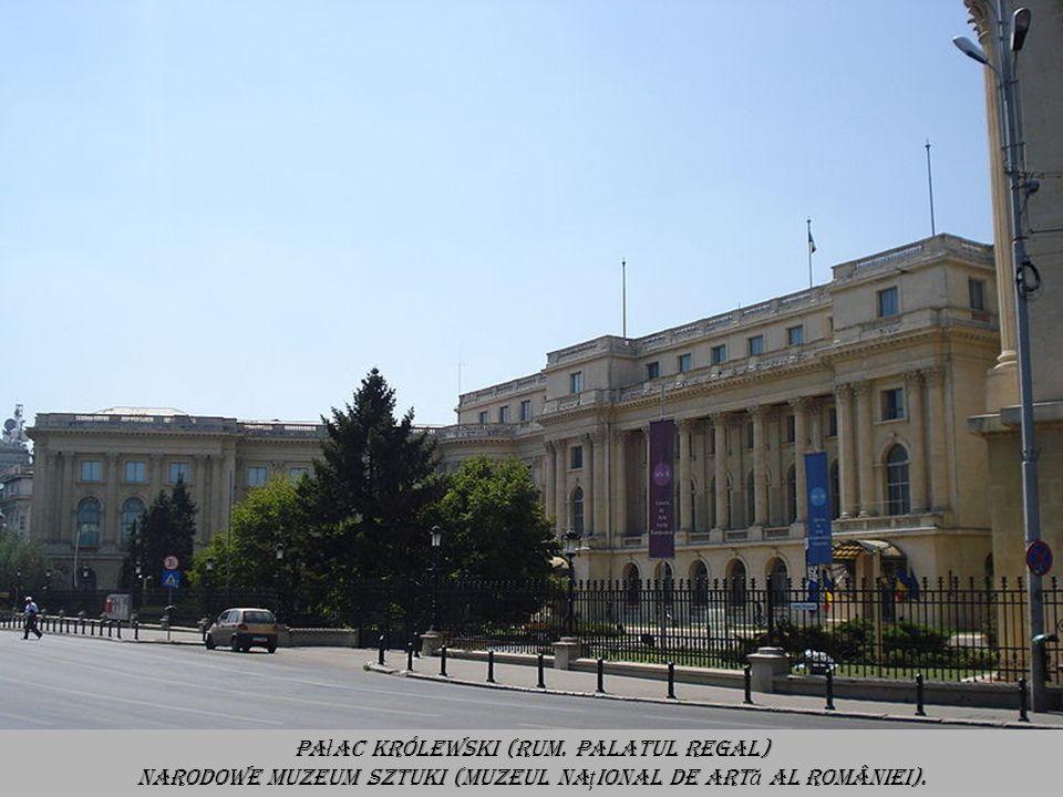 Pałac Królewski (rum. Palatul Regal)