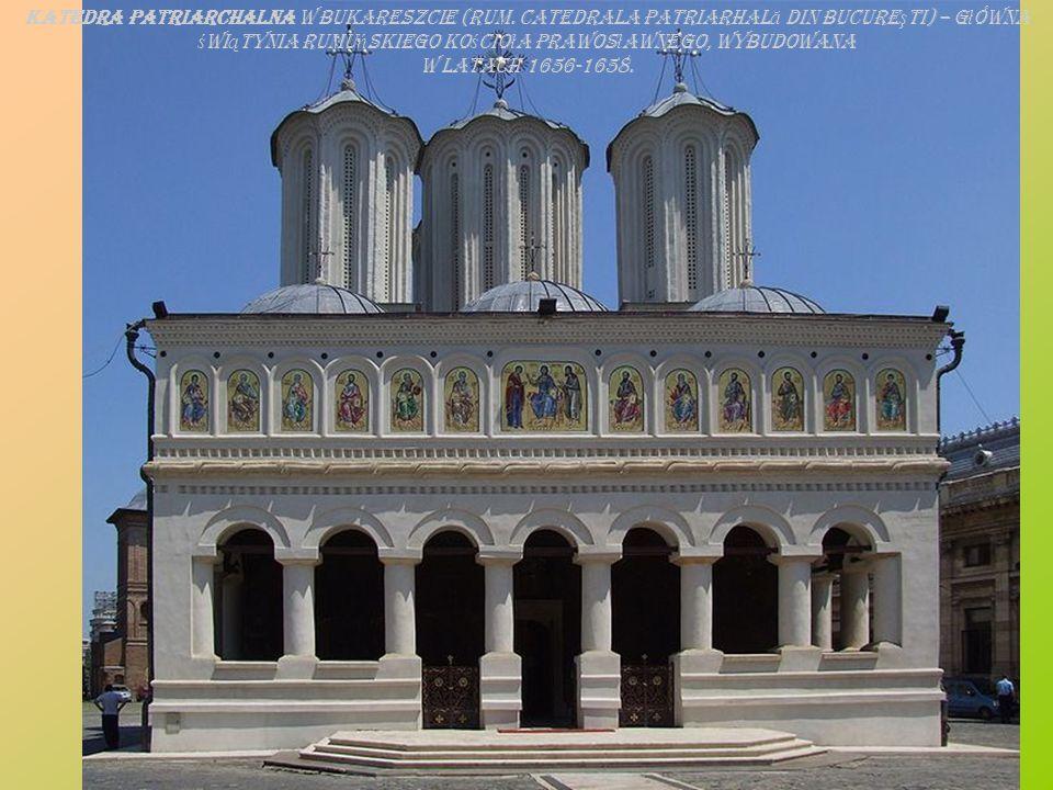 Katedra patriarchalna w Bukareszcie (rum