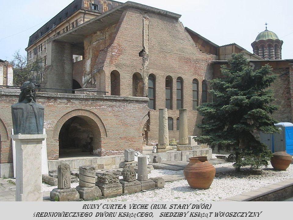 Ruiny Curtea Veche (rum. Stary Dwór)